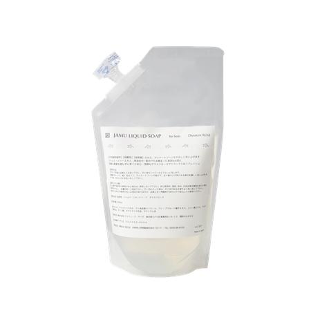 ジャムウリキッドソープ(ダマスクローズの香り)500ml詰替えパック